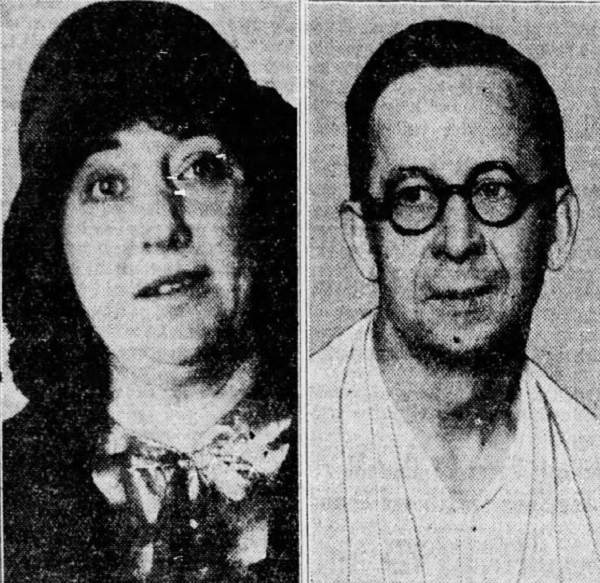Dolly Oesterreich and Otto Sanhuber