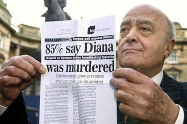 Conspiracy Surrounding Diana's Death