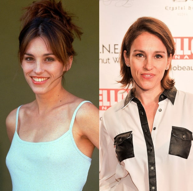 Amy Jo Johnson: Then and Now