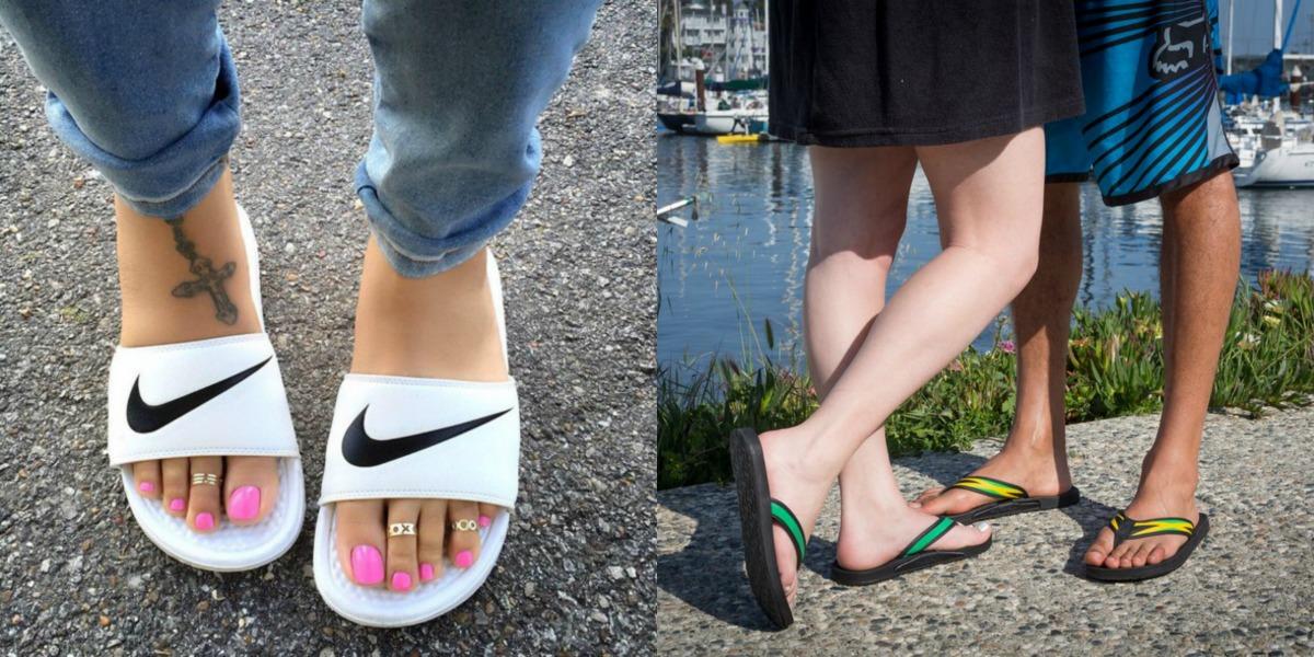 Sandals Everywhere!