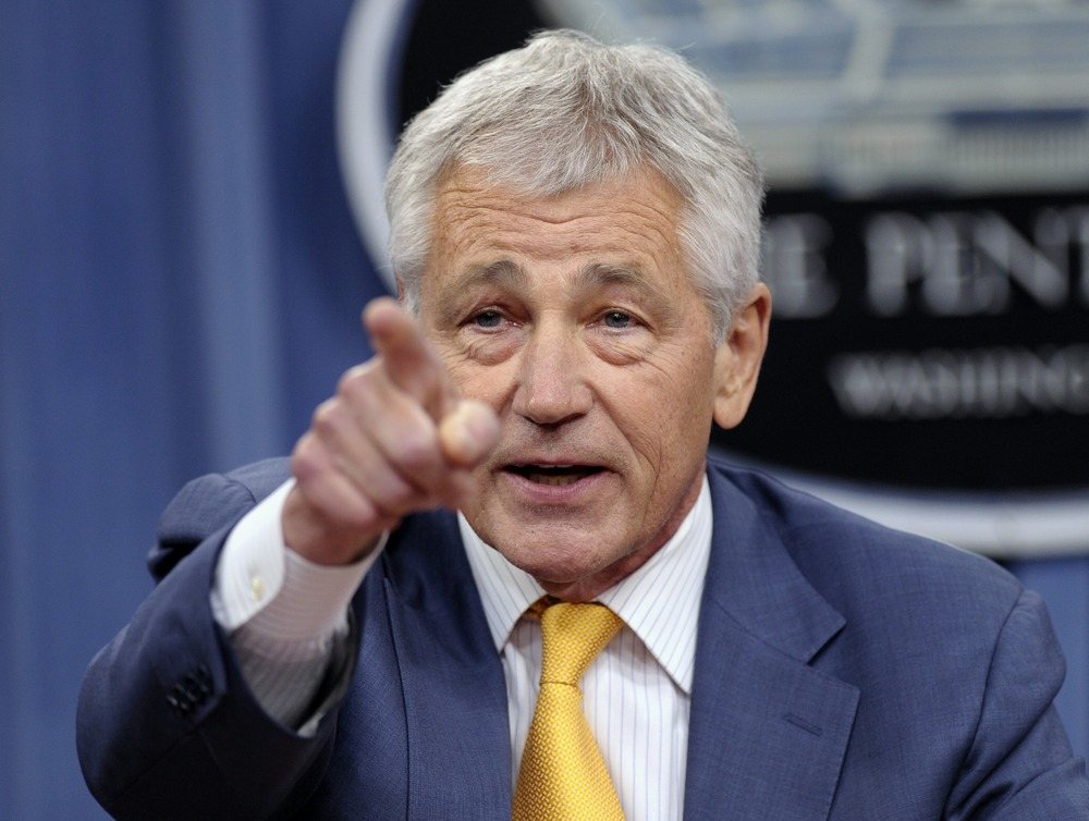 Chuck Hagel's Unspecified Views of the Military