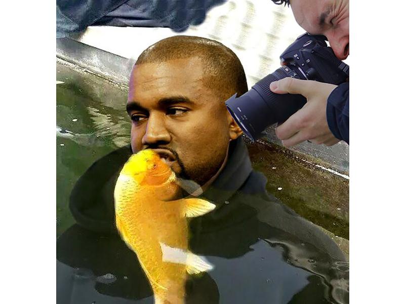 Kanye, Cameras, Fishes