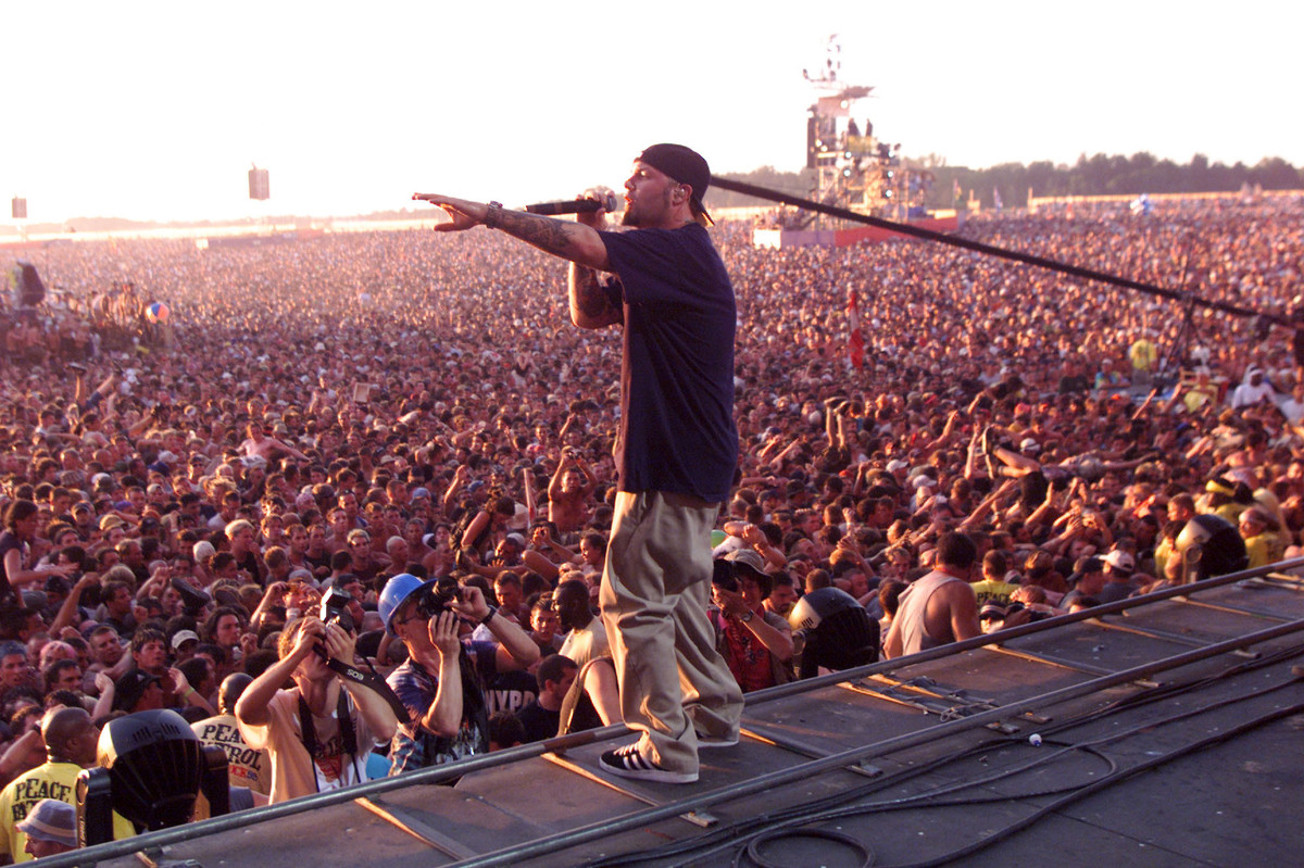 Limp Bizkit Eggs on 1999 Woodstock