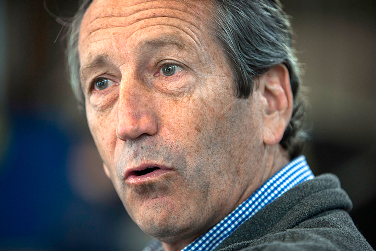 Mark Sanford Spending Tax Money on Vacation