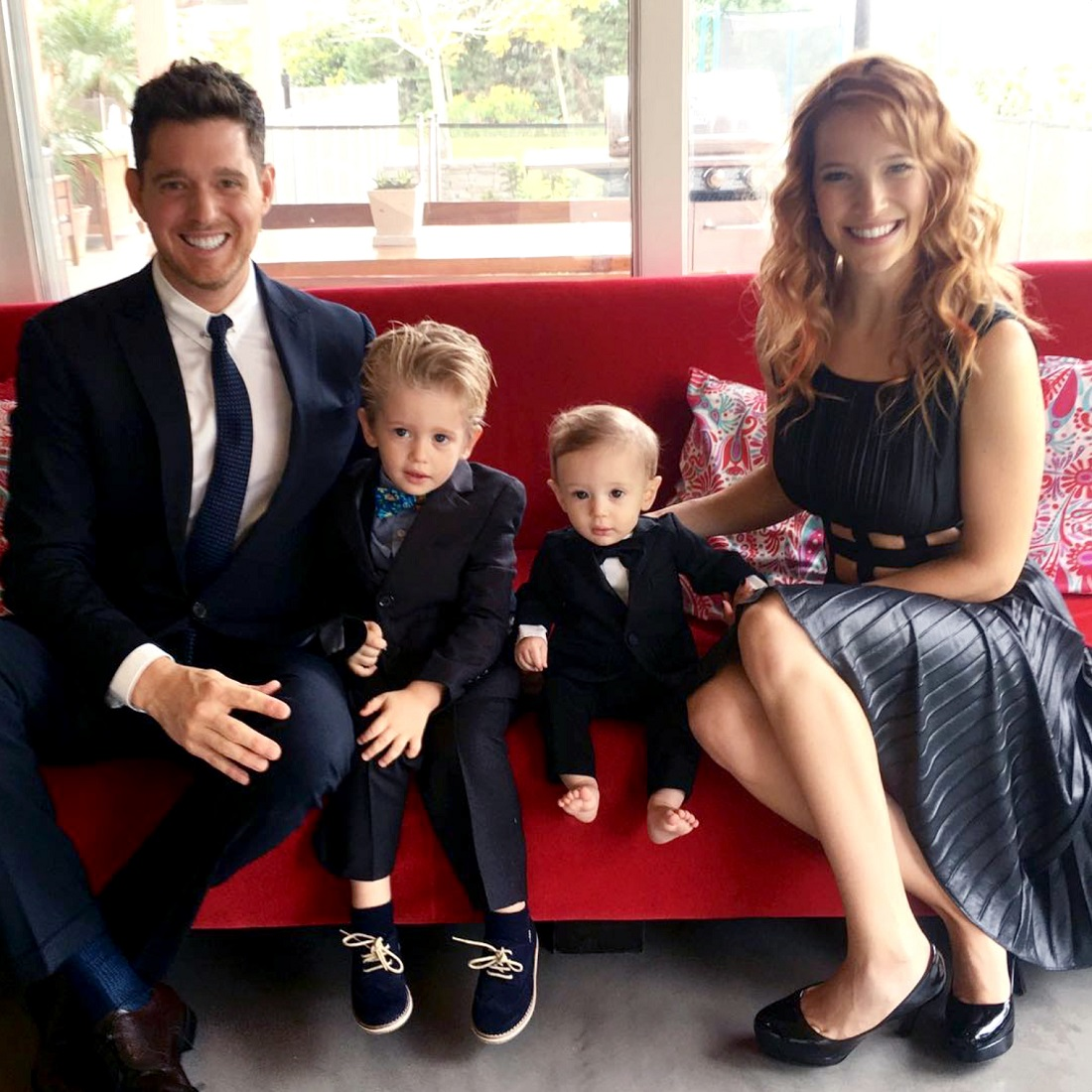 Michael, Noah, and Elias Bublé