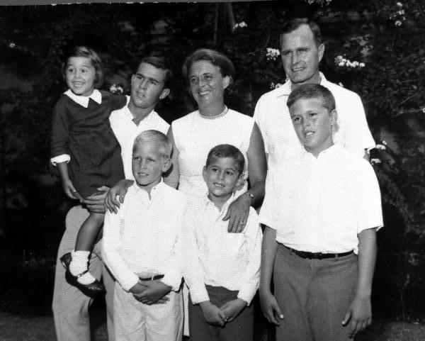 The First First Bush Family