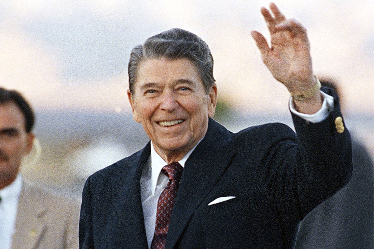 Ronald Reagan Violating American Policy