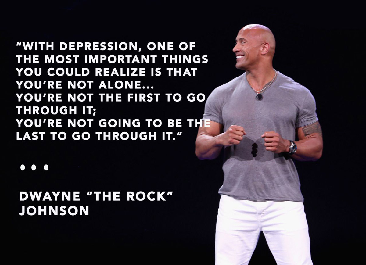 The Rock's Depression