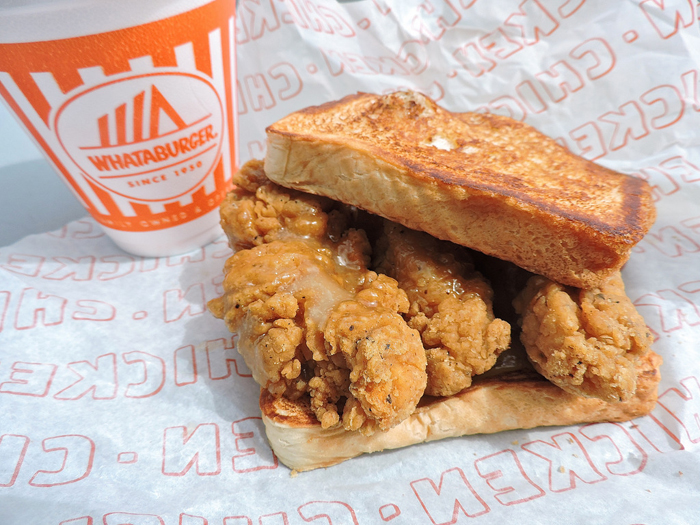Honey Butter Chicken Sandwich – Whataburger