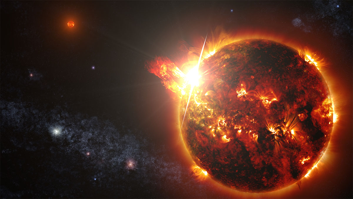 But Red Dwarfs Are So Volatile That Scientists Just Aren't Sure