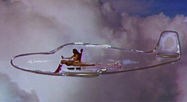 Wonder Woman's Jet Is Controlled Telepathically