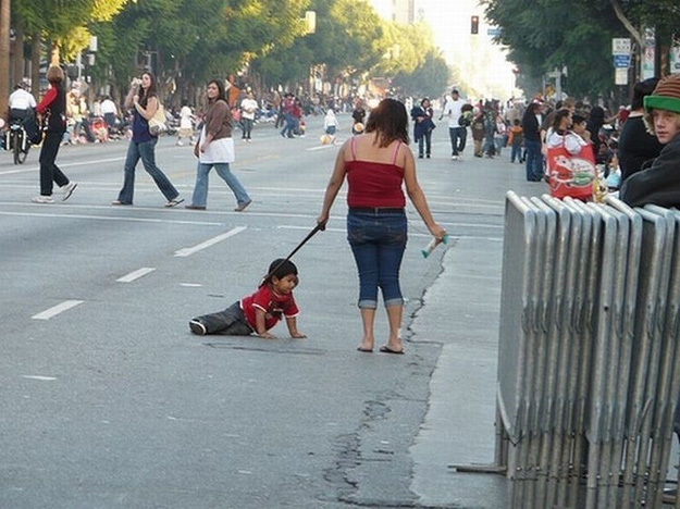 You Said You'd Never Put Your Kid on a Leash