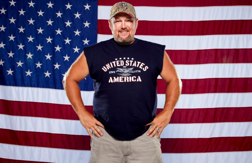 Larry the Cable Guy Crashed Sarah Palin's House!
