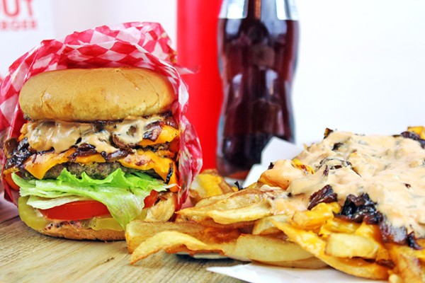 Animal Style Burger/Fries – In-N-Out