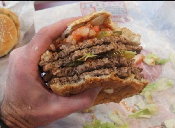 The Quad Whopper – Burger King