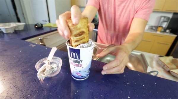 Apple Pie McFlurry – McDonald's