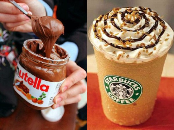 The Nutella Frappuccino – Starbucks