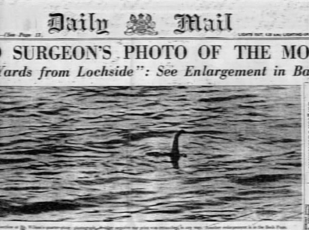 The Surgeon's Photo of Loch Ness Monster