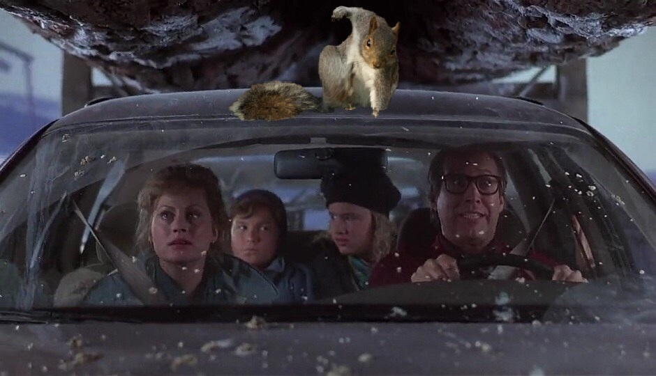 Christmas Vacation 2: The Squirrel's Revenge