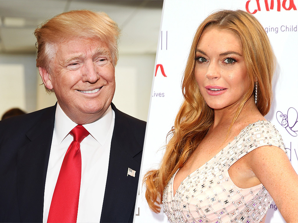 Lindsay Lohan Is for the GOP
