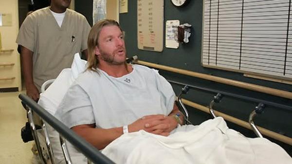 Triple H's Torn Quad