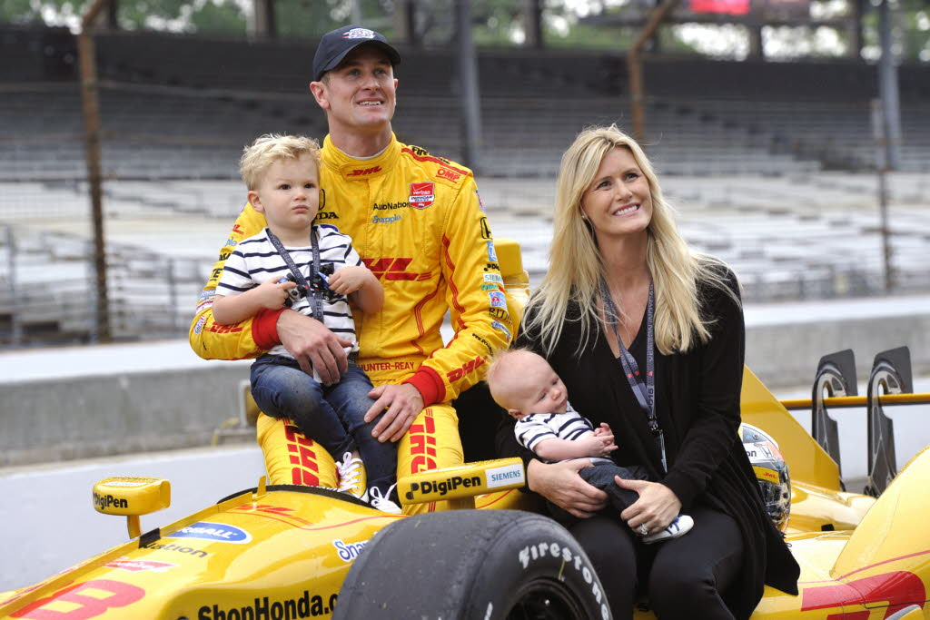 Beccy and Ryan Hunter-Reay