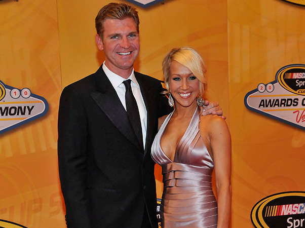 Lorra Podsiadlo Bowyer and Clint Bowyer