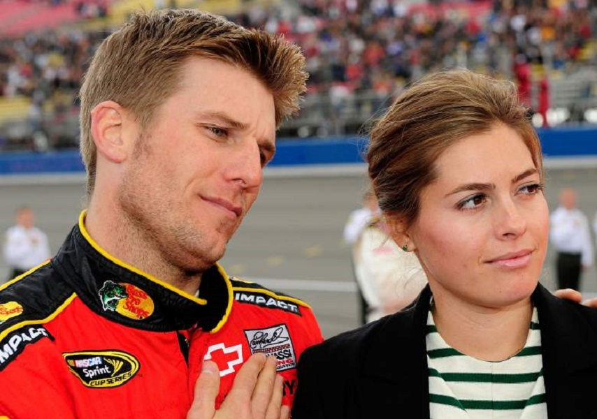 Jamie McMurray and Christy
