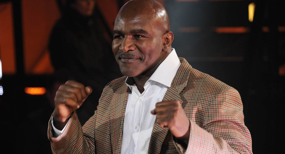 Evander Holyfield – At least $500,000 in unpaid support