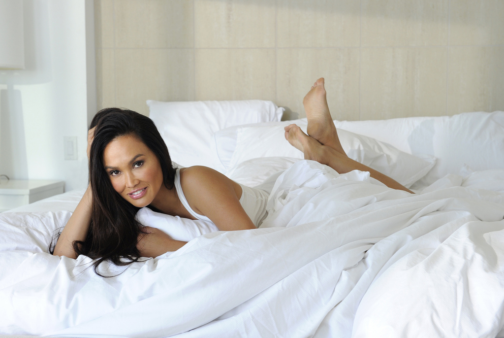 At Home Shoot With Tia Carrere