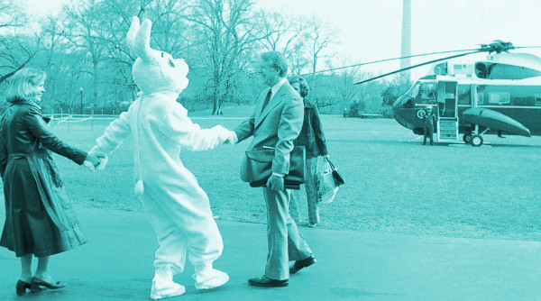 The First Official White House Easter Bunny