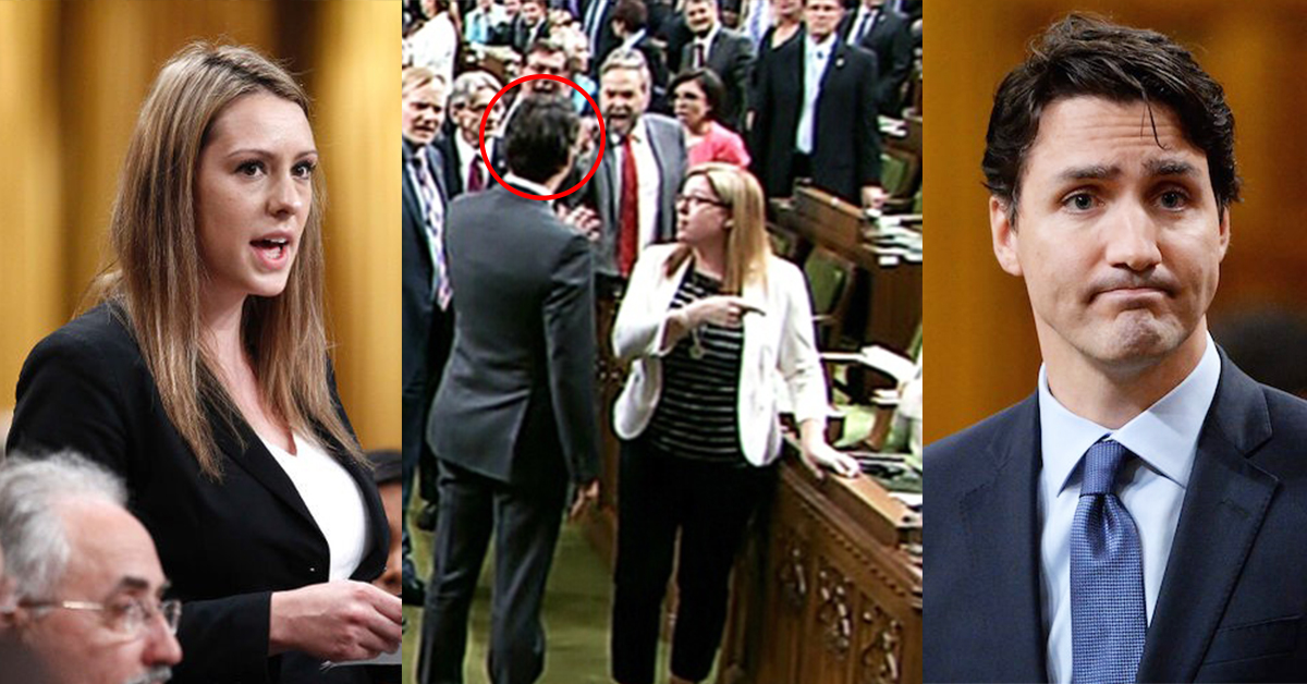 "Prime Minister Throws Elbow & ""Manhandles"""