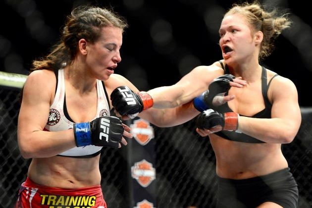 Rousey Makes It Personal with Miesha Tate