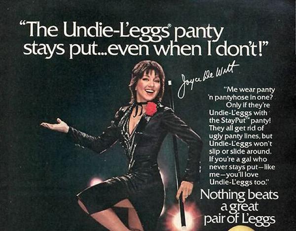 Joyce DeWitt Loves Pantyhose