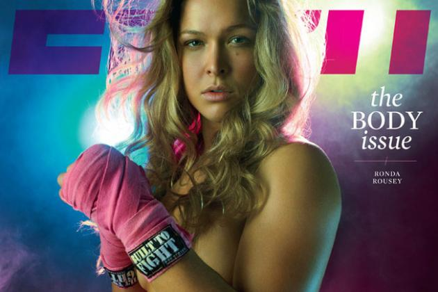 Rhonda Rousey Poses For ESPN Body Issue