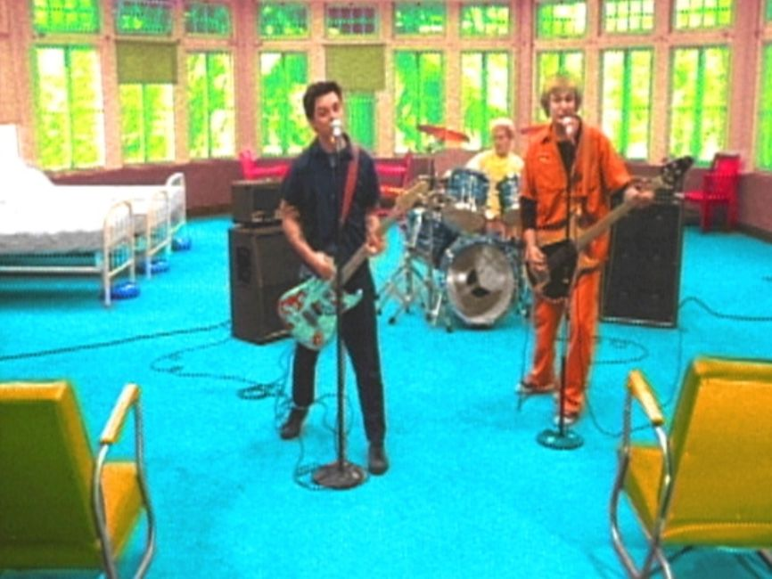 Green Day Films Video At Mental Care Facility