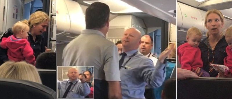 Flight Attendant Gone Wild