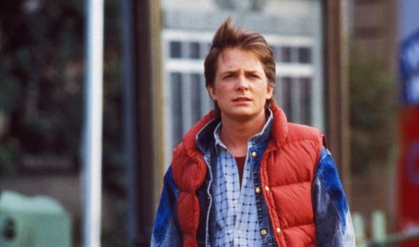 Michael J. Fox Then