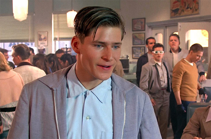 Crispin Glover Then