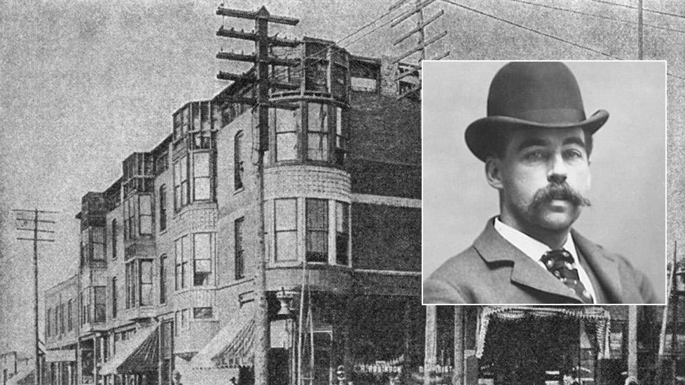 H. H. Holmes Runs to Chicago to Open a Murder Hotel