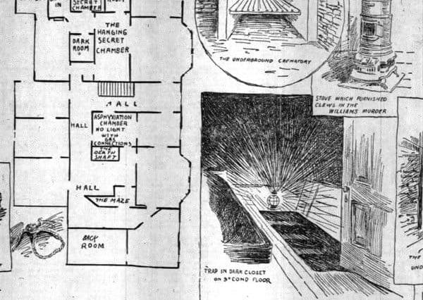 Holmes' Hotel Was Literally Designed to Foster Murder