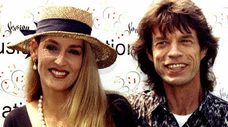 Jerry Hall Had a Revenge Affair