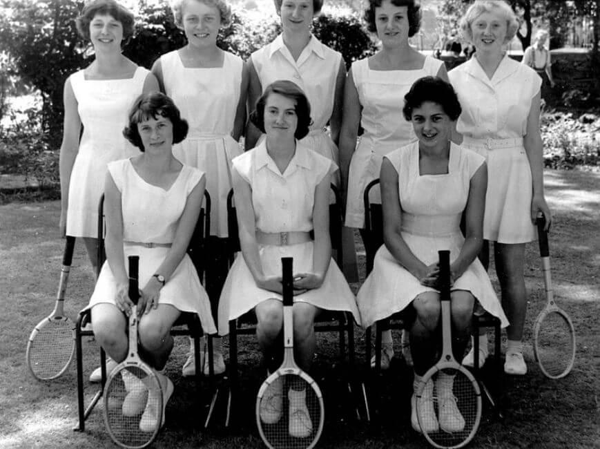 Tennis in the 1950s