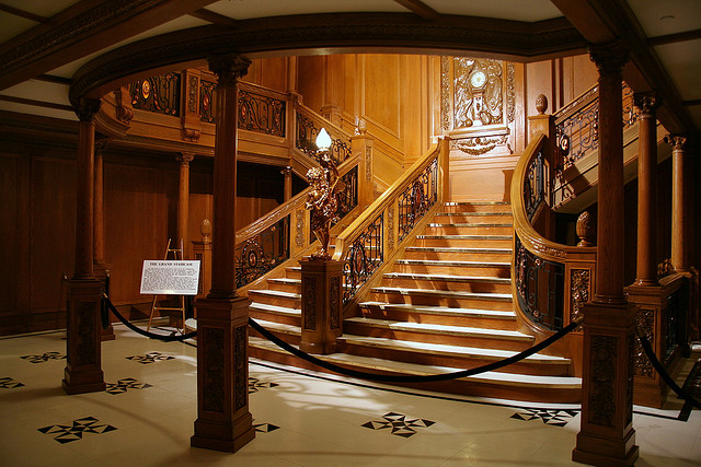 The Sweeping Grand Staircase