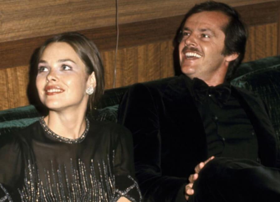 Jack Nicholson with ex-wife Sandra Knight