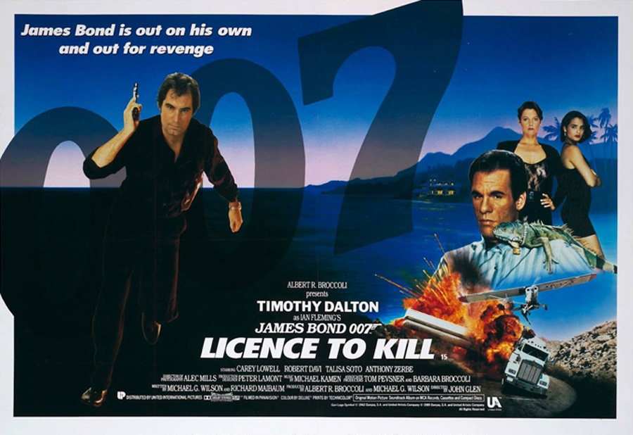 License To Kill, Permission To Quit