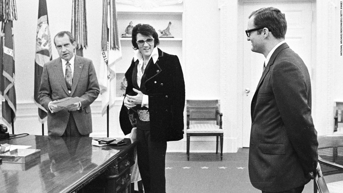 The President with Elvis