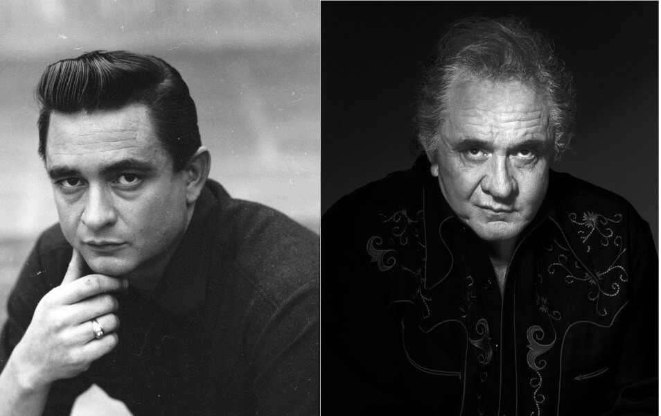 Johnny Cash – Then and Now