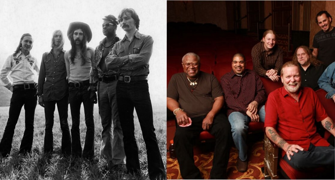 The Allman Brothers – Then and Now