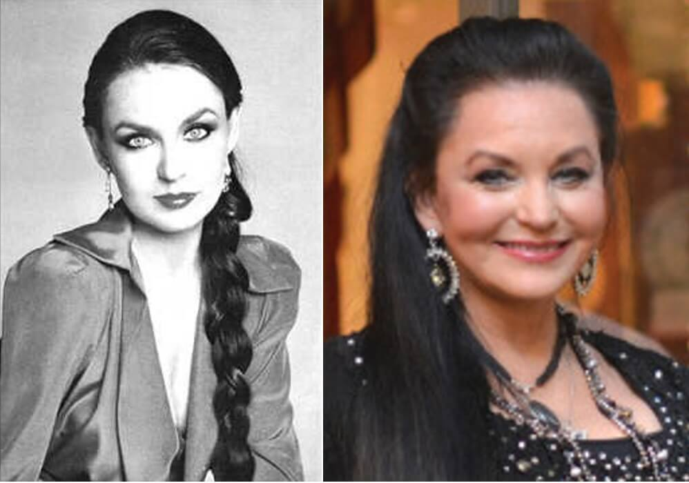 Crystal Gayle – Then and Now